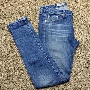 AG The Stilt Cigarette Leg Skinny Jeans Size 28R